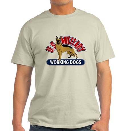 Military Working Dogs Light T-Shirt