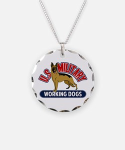Military Working Dogs Necklace