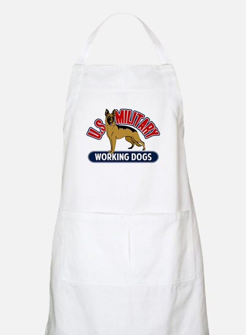 Military Working Dogs Apron