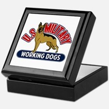 Military Working Dogs Keepsake Box