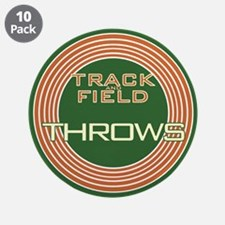 """Track and Field Throws 3.5"""" Button (10 pack)"""
