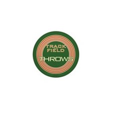 Track and Field Throws Mini Button