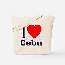 I Love Cebu Tote Bag