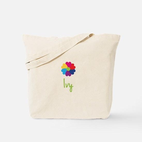Ivy Valentine Flower Tote Bag
