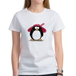 Red Hat penguin Women's T-Shirt