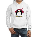 Red Hat penguin Hooded Sweatshirt