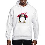 Red Hat penguin Hooded Sweatshirt