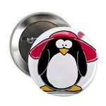 Red Hat penguin Button