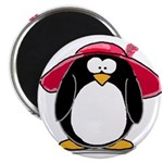 Red Hat penguin Magnet