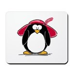 Red Hat penguin Mousepad