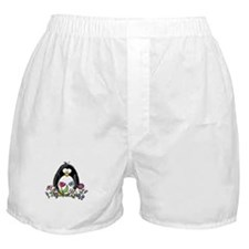 Garden penguin Boxer Shorts