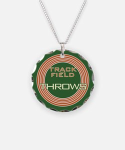 Track and Field Throws Necklace