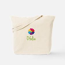 Ofelia Valentine Flower Tote Bag
