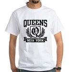 Queens NY White T-Shirt