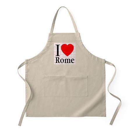 I Love Rome BBQ Apron