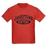 Jamestown New York Kids Dark T-Shirt