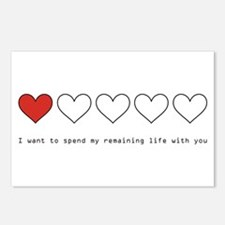 Spend My Remaining Life With Postcards (Package of