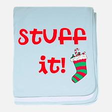 Stuff it! baby blanket