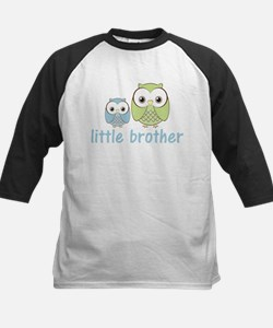Blue/Green Little Brother Owl Tee