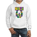 NOLA Mardi Gras Hooded Sweatshirt