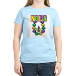 NOLA Mardi Gras Women's Light T-Shirt