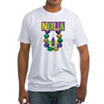 NOLA Mardi Gras Fitted T-Shirt