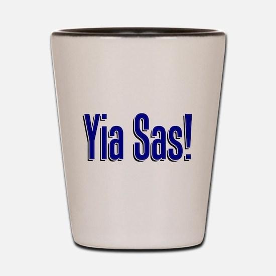 Yia Sas Shot Glass