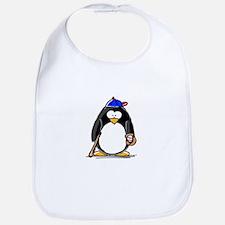 Baseball penguin Bib