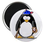 Baseball penguin Magnet