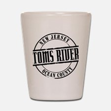 Toms River TItle Shot Glass