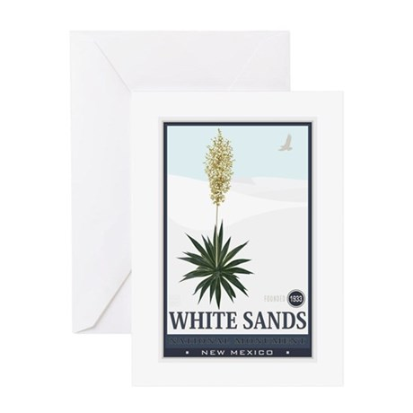 National Parks - White Sands 2 1 Greeting Card