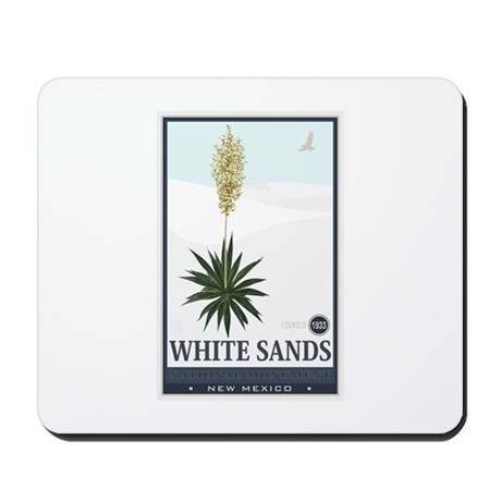 National Parks - White Sands 2 1 Mousepad