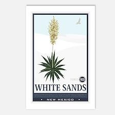 National Parks - White Sands 2 1 Postcards (Packag