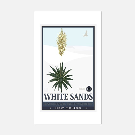 National Parks - White Sands 2 1 Decal