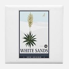 National Parks - White Sands 2 1 Tile Coaster