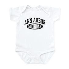 Ann Arbor Michigan Infant Bodysuit