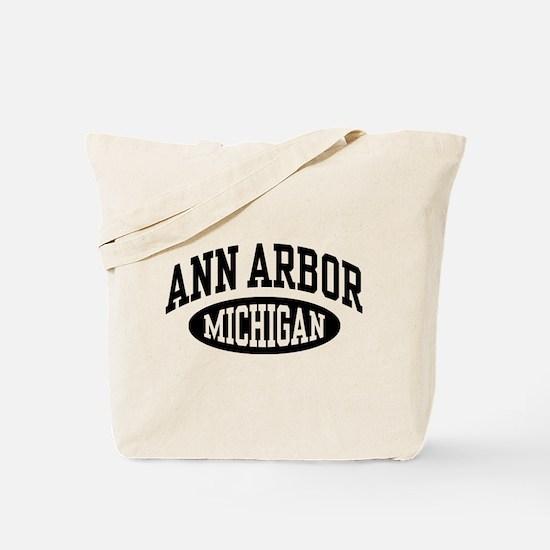 Ann Arbor Michigan Tote Bag