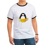 Coffee penguin Ringer T
