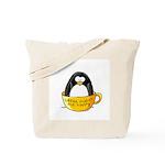 Coffee penguin Tote Bag