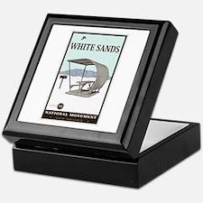 National Parks - White Sands 4 Keepsake Box