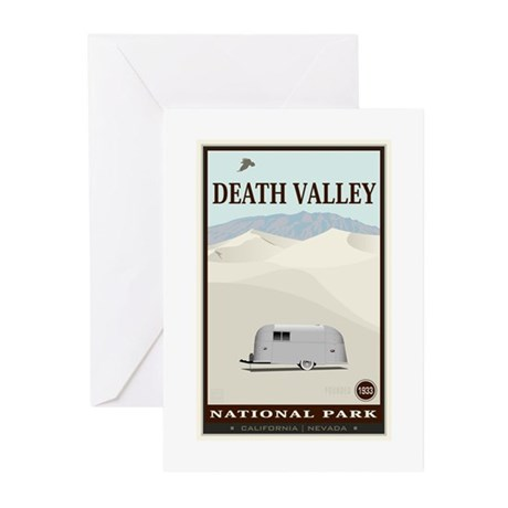 National Parks - Death Valley 1 Greeting Cards (Pk