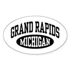 Grand Rapids Michigan Decal