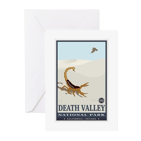 National Parks - Death Valley 2 Greeting Cards (Pk