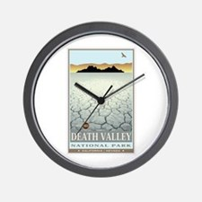 National Parks - Death Valley 3 Wall Clock