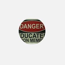 Danger! Mini Button