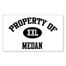 Property of Medan Rectangle Decal