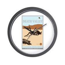 National Parks - Death Valley 4 Wall Clock
