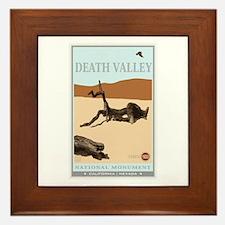 National Parks - Death Valley 4 Framed Tile