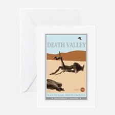 National Parks - Death Valley 4 Greeting Card