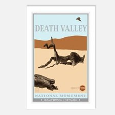 National Parks - Death Valley 4 Postcards (Package
